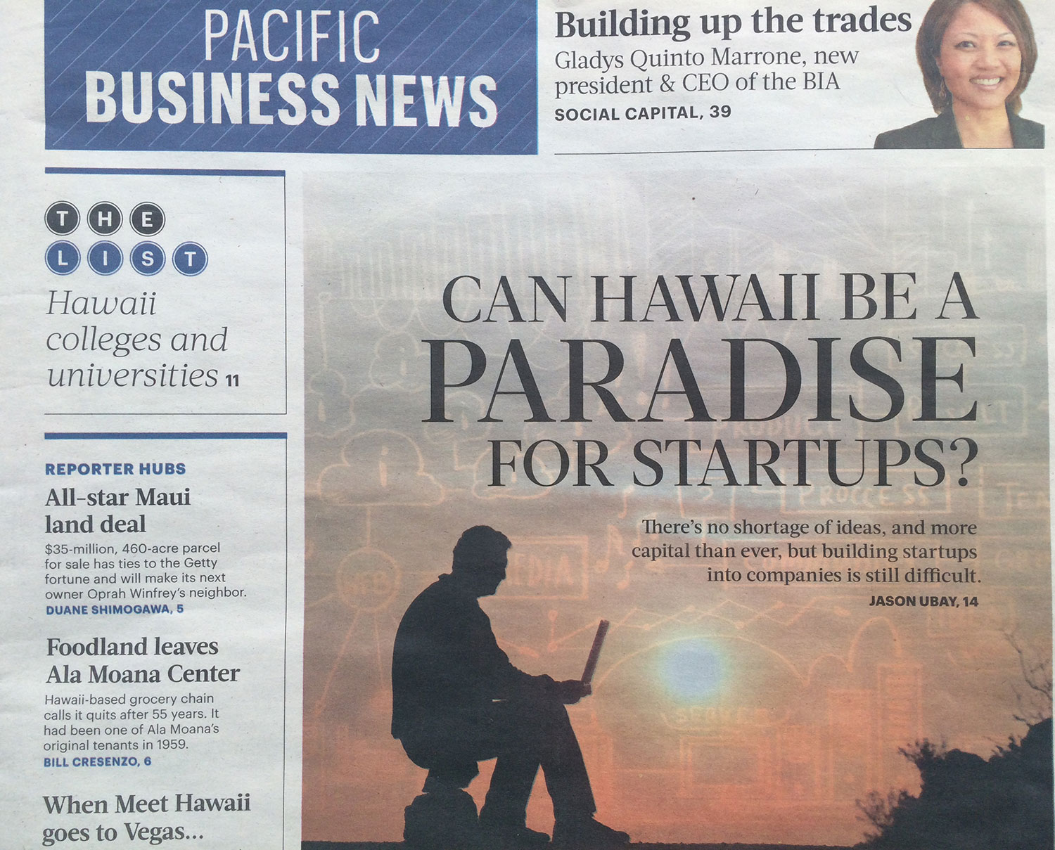 Can Hawaii Be A Paradise For Startups?
