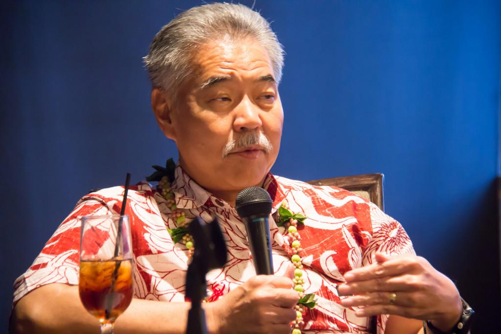 Above: Hawaii Governor David IgeImage Credit: State of Hawaii/Flickr