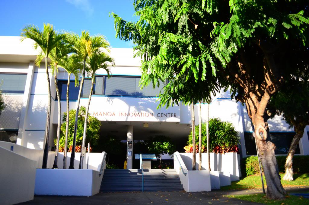 Above: Manoa Innovation Center in Honolulu. Hawaii is home to some of the companies participating in Startup Paradise.Image Credit: Hawaii High Tech Development Corporation