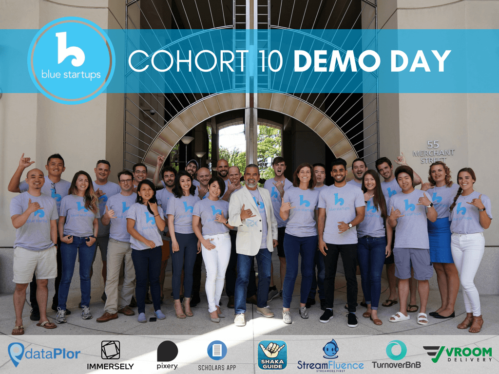 Blue Startups Cohort 10 Demo Day This Week